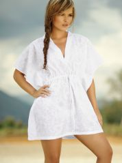White Square design Kaftan