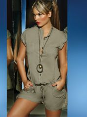 Safari Playsuit By Phax
