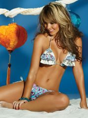 Floral Priscilla Bikini with Frills by Phax