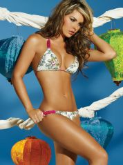 Triangle Bikini Embellished with Beads