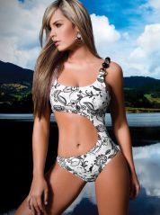 Alicante Black and white Cut away Suite