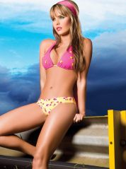 Heart and Roses Halter Bikini by Phax