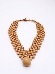 Cream Amazon Necklace by Coco Lush