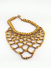 Mustard Amazon Necklace by Coco Lush