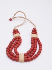 Coral Amazon Necklace by Coco Lush
