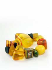 Indiana Jones Yellow Bracelet by Jackie Brazil