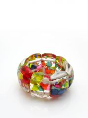 Multicoloured Cascade Resin Bracelet