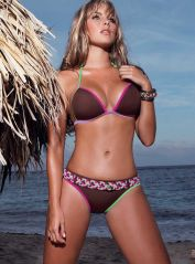 Plaited Multicoloured Belt Bikini
